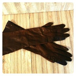 Cowhide vintage gloves